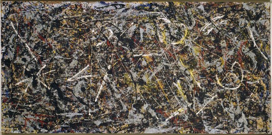 Alchemy (1947) by Jackson Pollock