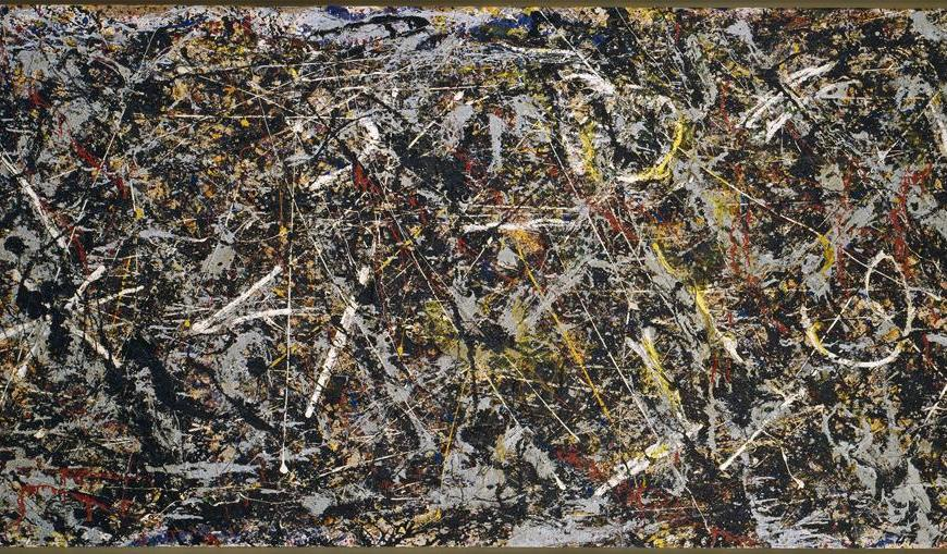 Alchemy (1947) by Jackson Pollock